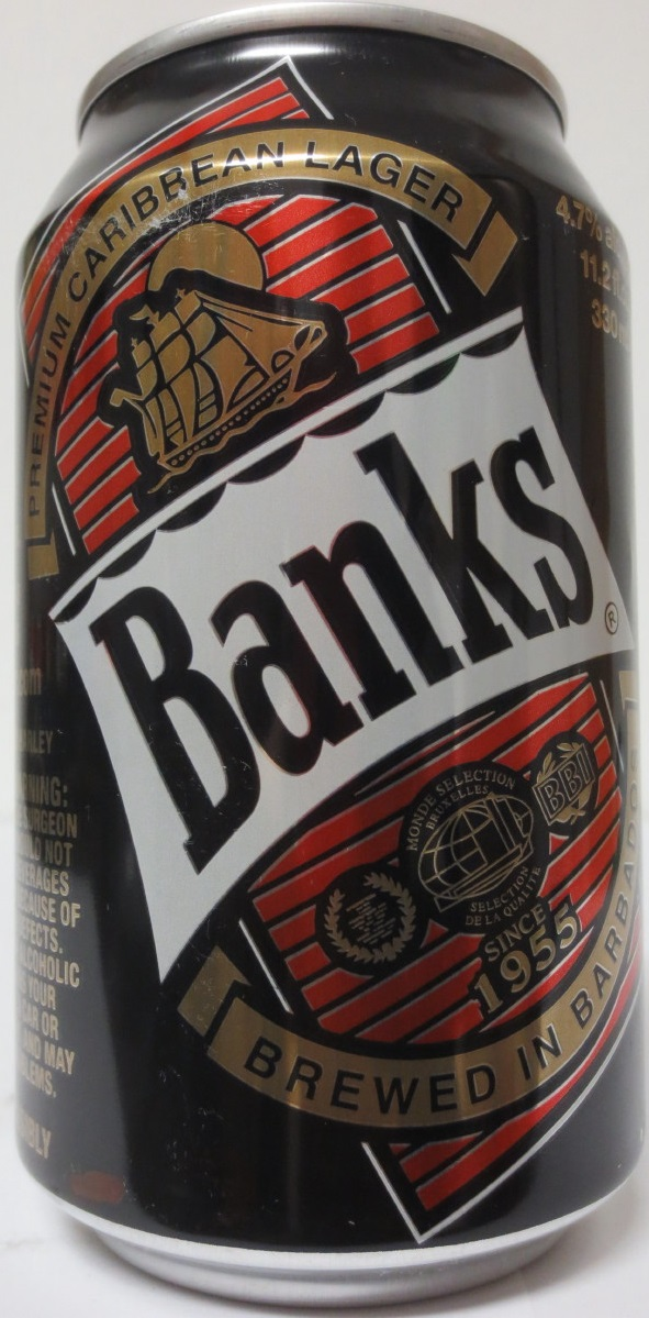 BARBADOS-Banks BREWED IN BARBADOS (33cl) (AL) (B/O)