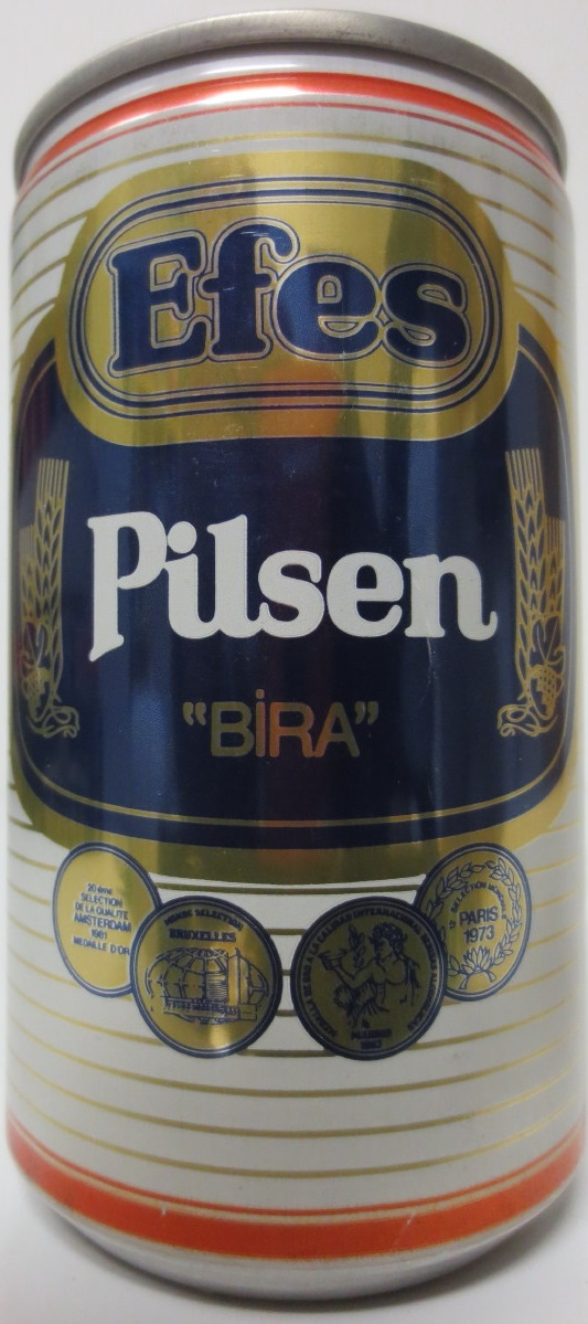 TURKEY-Efes Pilsen BIRA (33cl) (B/O)